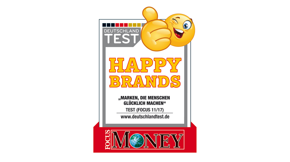 Happy Brands Zertifikat